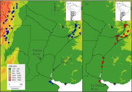Parana River Map Plebeia Droryana Friese Plazi Treatmentbank