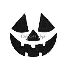 digital machine embroidery design halloween jack o lantern