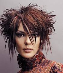 spiked haircuts medium length versatility of medium length haircut short funky hairstyles