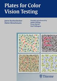 Color Blindness Book Ophthalmology Plates For Color Vision Testing