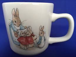 wedgewood rabbit wedgwood rabbit child s mug baby cup 1993 beatrix potter