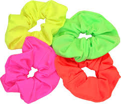 hair scrunchie neon scrunchie dancemania dancewear