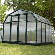 8 X 12 Greenhouse Kits Palram Essence Silver Hobby Greenhouse 8 X 12 Ft Hayneedle