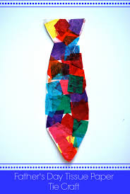 father u0027s day tissue paper tie craft archives artzycreations com