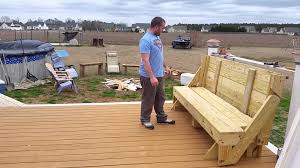 Plans For Picnic Table That Converts To Benches by Folding Picnic Table To Bench Youtube