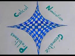 Dessin Page de garde du cahier de Maths géométrie  YouTube