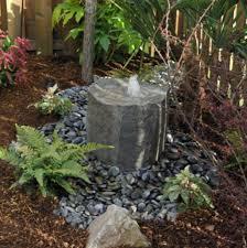 small rock garden and fountain waterfall creations ideas 56 garden