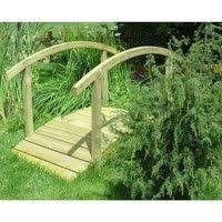 ringhiera in legno per giardino ponti da giardino
