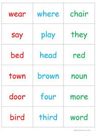 18 free esl rhyming words worksheets