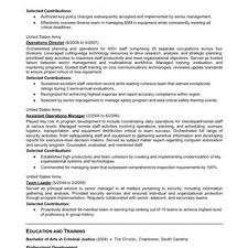 Sample Military Resumes by Sample Resume Of Ex Military