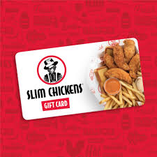 fast food gift cards gift card slim chickens