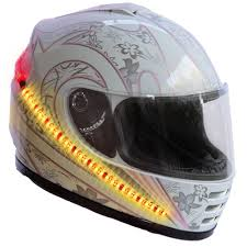 motocross helmet light amazon com lightrider u0026trade 360 u0026deg motorcycle helmet light