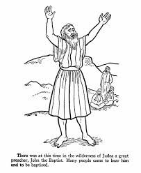 john baptist coloring pages kids coloring