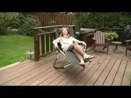 Zero Gravity Patio Chairs by Zero Gravity Orbital Chaise Loungers Demonstration Youtube