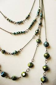 make beaded chain necklace images Multi strand chain and bead necklace how did you make this jpg