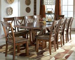 Solid Wood Dining Table Set  KIurtjohnsonco - Rustic dining room table set