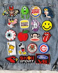 pack of 19 iron on patches 19 embroidered iron on patches set