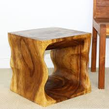 wood cube end table 16 natural wood cube end table natural wood decor
