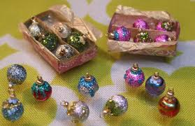 7 miniature christmas ornaments merry christmas