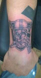 52 best oakland raiders tattoos