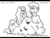 christian coloring pages adam and eve noah u0027s ark 10