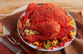 flamin cheetos turkey is a thing this thanksgiving sfgate