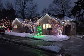 custom length christmas light strings winterland inc perimeter lighting
