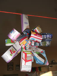 check out our christmas decorations made entirely from recycled