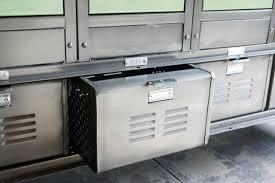 Storage Locker Units by Vertical Locker And Basket Storage Unit Rehab Vintage Interiors
