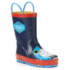 chief thomas the tank engine toddler boys u0027 rain boots