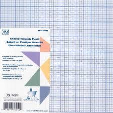 quilter u0027s gridded plastic template discount designer fabric