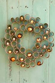 Homemade Christmas Wreaths 35 diy homemade christmas decorations christmas decor you can make