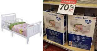 Target Toddler Beds Gorgeous White Toddler Sleigh Bed 23 98 Reg 80