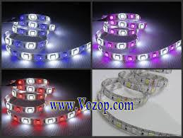 rgbw led strip light rgb warm pure white 12v flex tape 5m 300 led