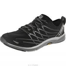 black friday merrell shoes merrell bare access 3 men u0027s black silver j06523 weight 6 9