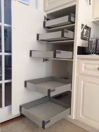 ikea corner kitchen cabinet shelf ikea rationell pull out shelves w ders retrofitted to non