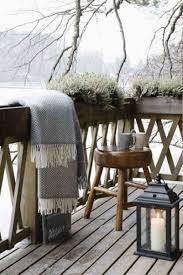 cozy winter terrace design ideas real house design exterior
