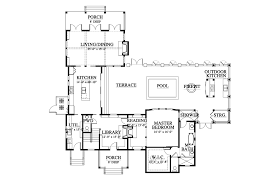 holiday house house plan c0412 design from allison ramsey architects first floor plan 1853 sq ft elevation second floor plan