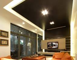 ceiling fan size for large room modern living room ceiling design family room lighting ideas living
