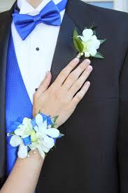 royal blue corsage foster floral design corsage bar prom flowers in knoxville