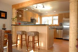 Kitchen Cabinets With Island Kitchen Fashionable Ceiling Spot Lights Over Counter Island With