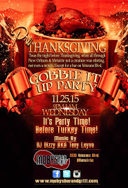 thanksgiving party flyer photos