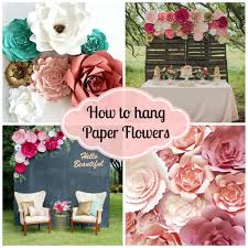 flower backdrop diy paper flower backdrop for wedding and events paperflora