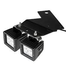 led fog light brackets for ford f 150 svt raptor 3 square led