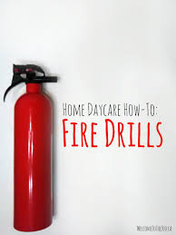 Fire Evacuation Plan Template For Home by Home Daycare How To Run A Fire Drill U2013 Welcome To The Zoo