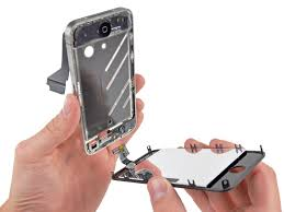 how to join broken glass iphone 4 display assembly replacement ifixit