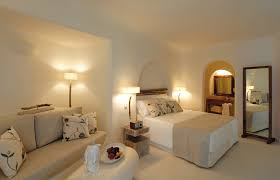 Moroccan Mystique Feature Wall Contemporary Bedroom by Mystique Santorini Luxury Hotels Travelplusstyle