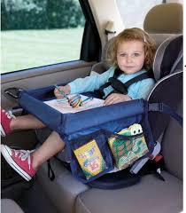 siege auto conseil enfant de voiture plateau de siège étanche conseil de stockage