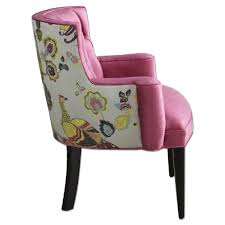 Pink Accent Chair Horchow Haute House Jade Pink Accent Chair Aptdeco