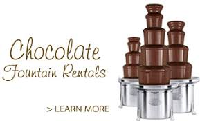 chocolate rentals chocolate fountains in houston tx rentals dessert catering